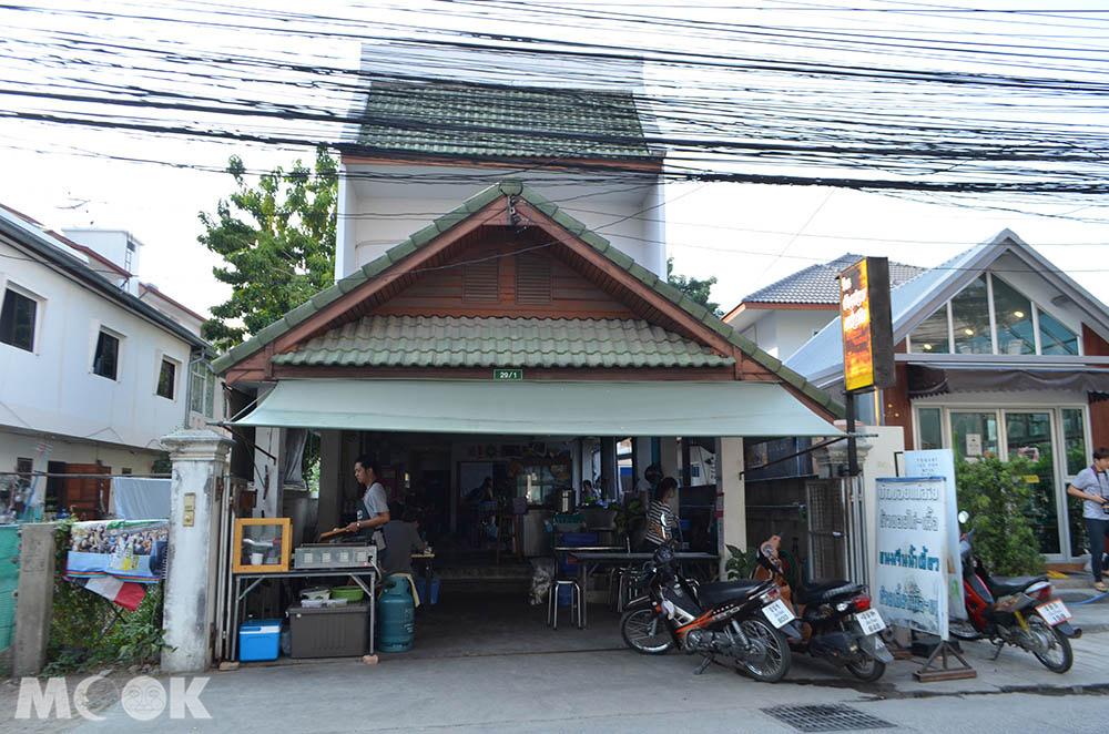 泰國 清邁 舊城 古城 小吃 咖哩麵  Khao Soi Mae Sai