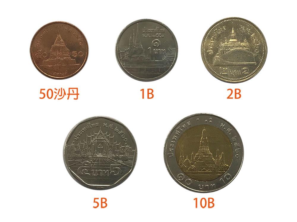 泰國 曼谷 清邁 泰銖硬幣 素帖寺 雙龍寺 玉佛寺 金山塔寺 大理石寺