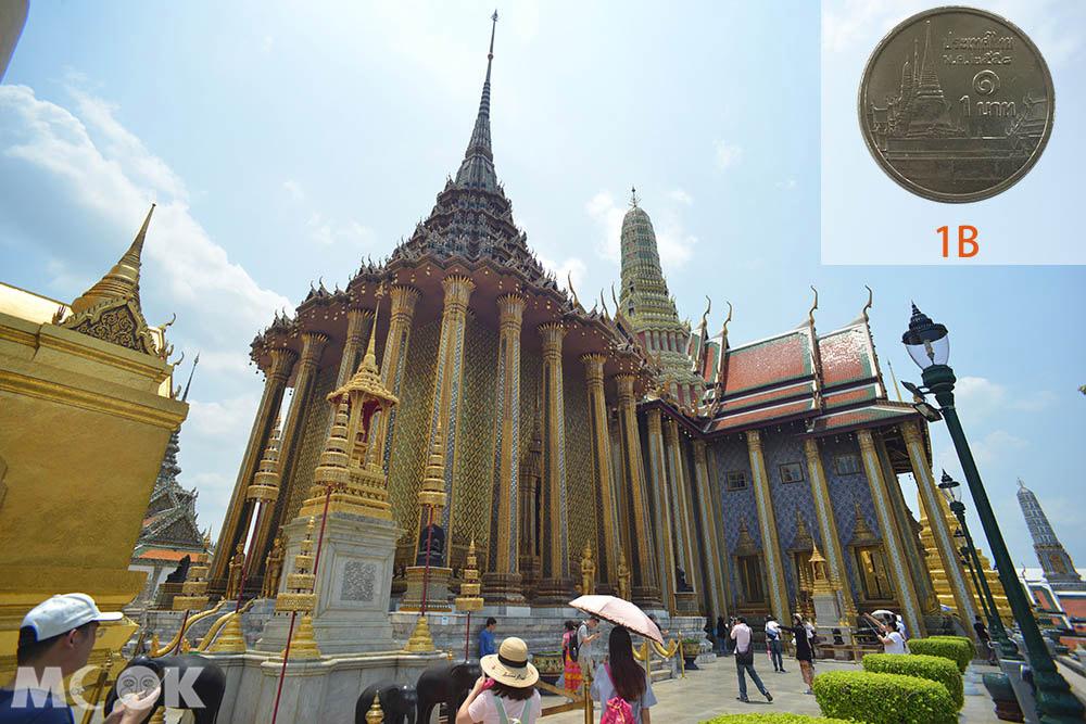 泰國 曼谷 泰銖硬幣 玉佛寺
