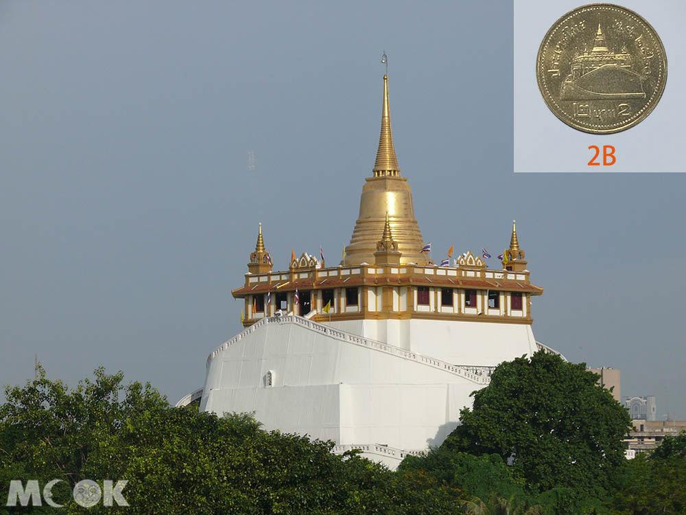 泰國 曼谷 金山塔寺