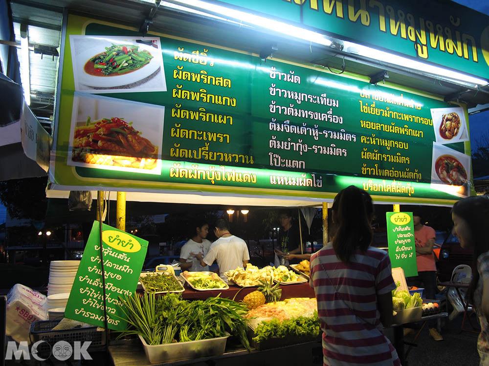 泰國 清邁 市集 夜市 乾帕門夜市