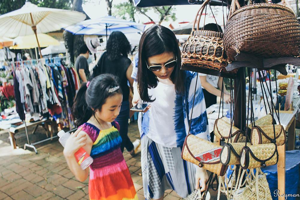 泰國 清邁 夜市 市集 Rustic Market Jing Jai Market