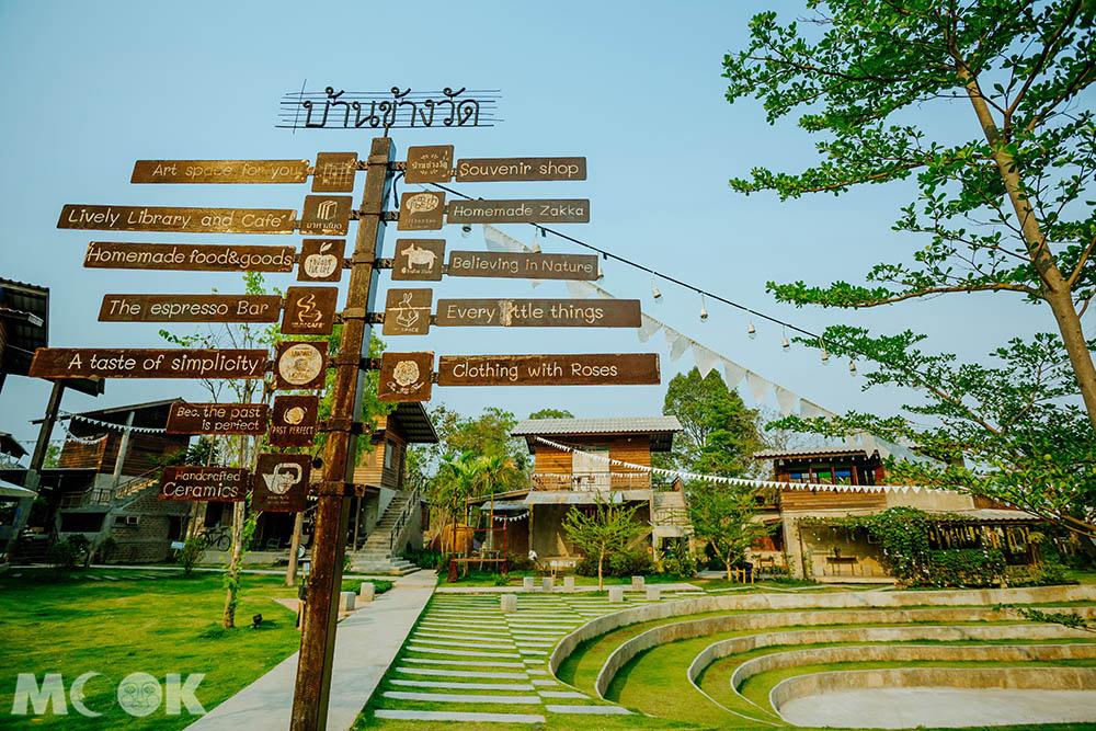 泰國 清邁 夜市 市集 Baan Kang Wat