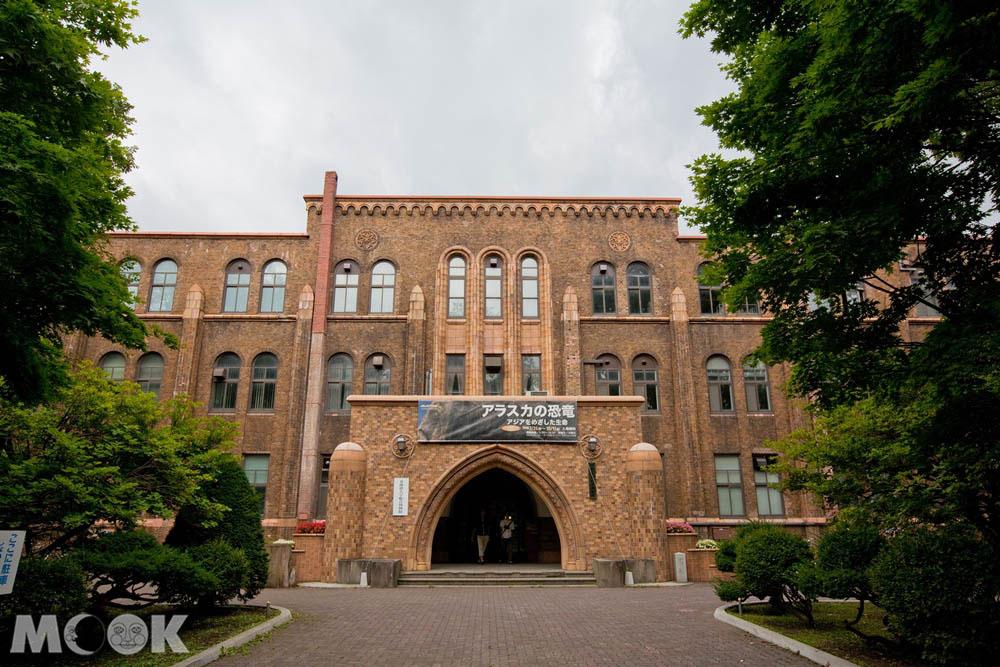 北海道大學的綜合博物館正門