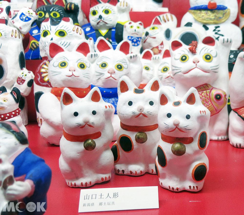招財貓美術館(招き猫美術館)日本各地的招財貓