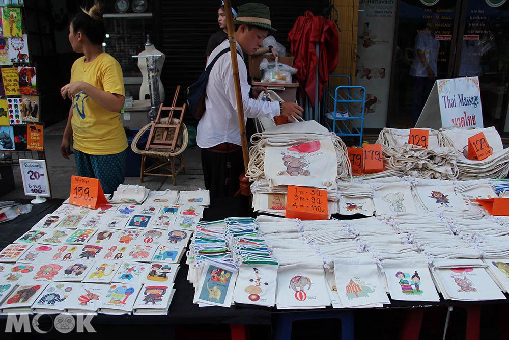 泰國 清邁 夜市 市集 週六步行街