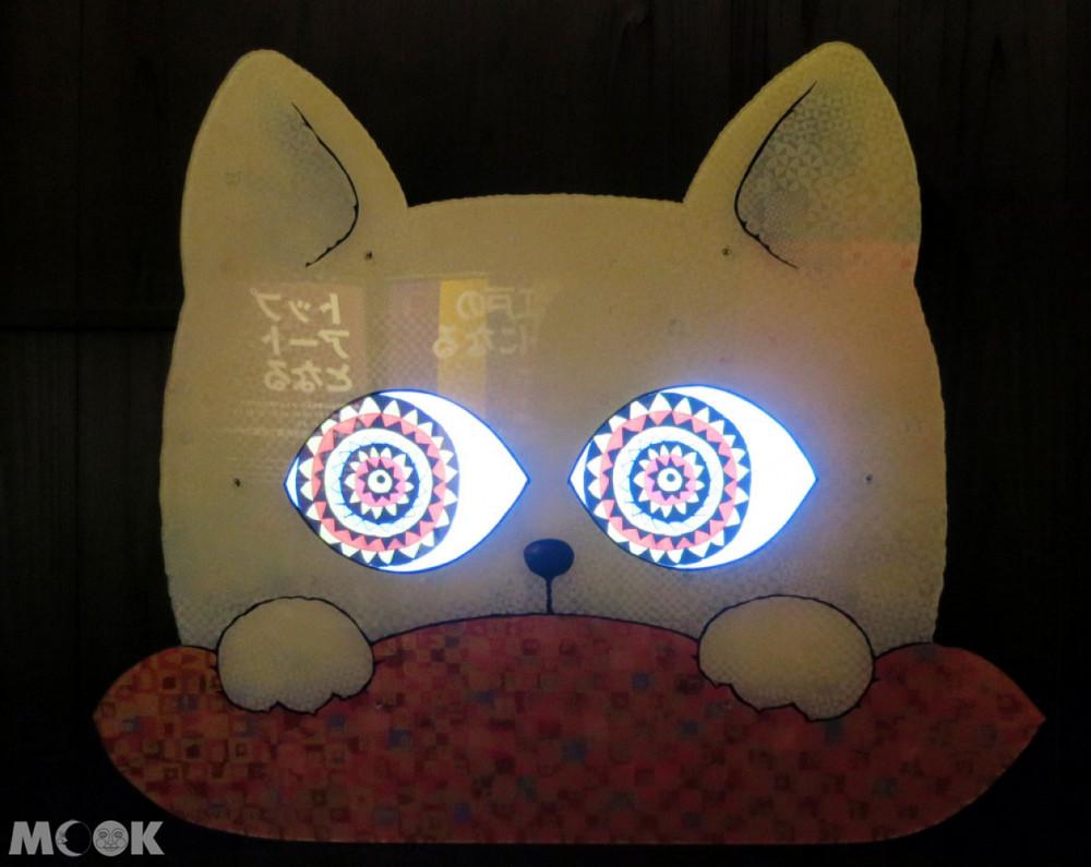 招財貓美術館(招き猫美術館)先進的多媒體招財貓