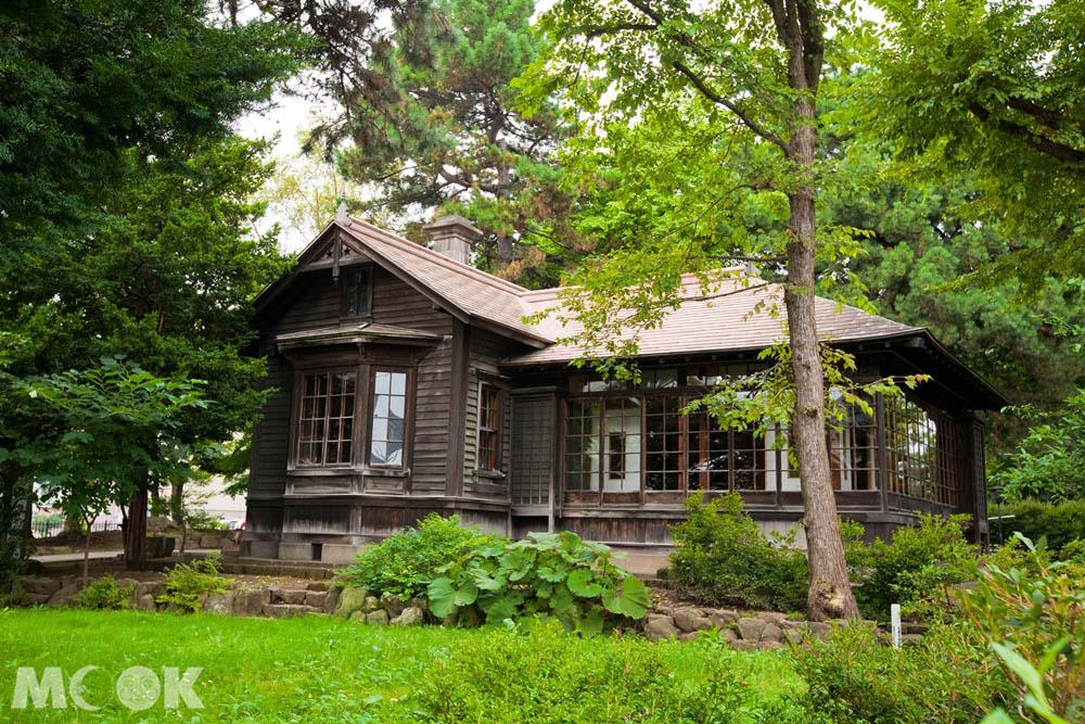 位在札幌的歷史建築清華亭
