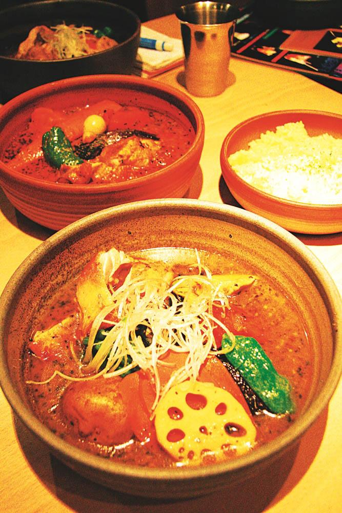 札幌的湯咖哩名店PICANTE