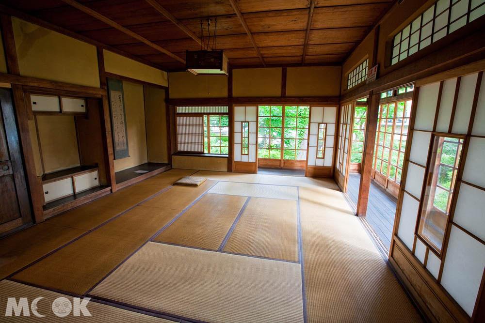 札幌清華亭內的和室