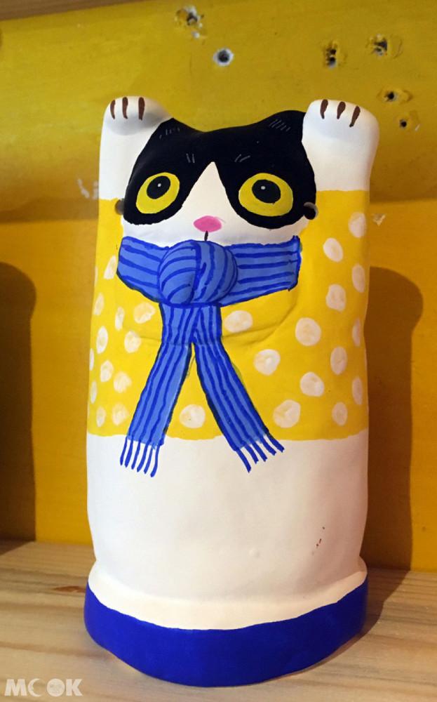 招財貓美術館(招き猫美術館)Lucky Cats House北歐風的可愛招財招福貓