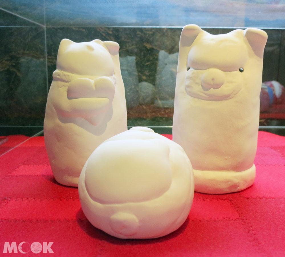 招財貓美術館(招き猫美術館)Lucky Cats House三種素胚
