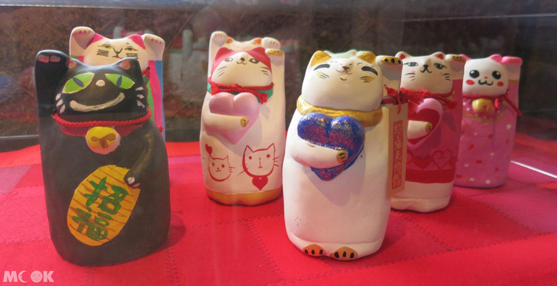 招財貓美術館(招き猫美術館)Lucky Cats House彩繪作品