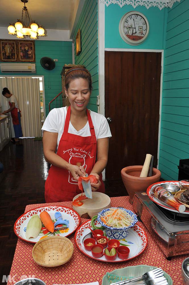 泰國 曼谷 料理教室 廚藝 泰菜  Sompong Thai Cooking Class