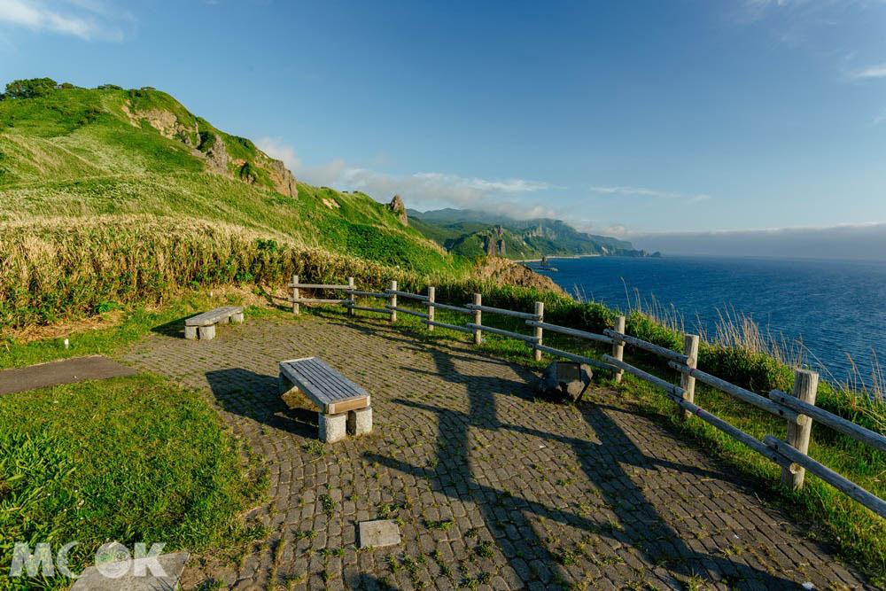 北海道積丹半島的神威岬觀景台