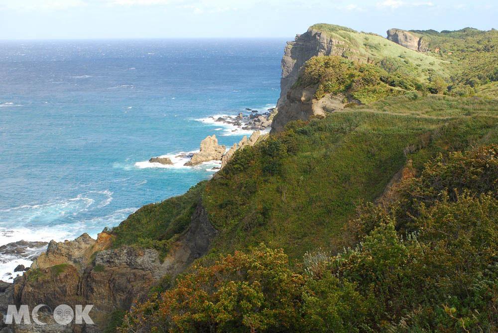 北海道積丹的海岬風景