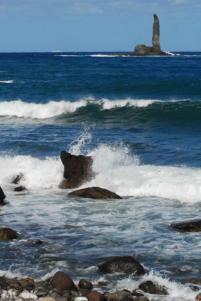 北海道積丹的神威岬與神威岩