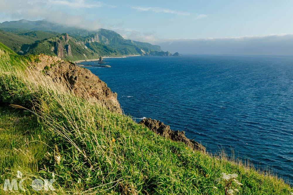 北海道積丹的神威岬風景