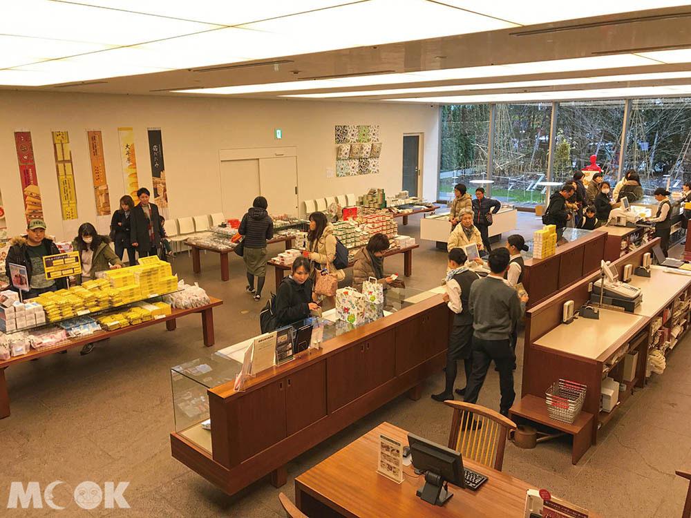 六花亭札幌本店1樓賣店