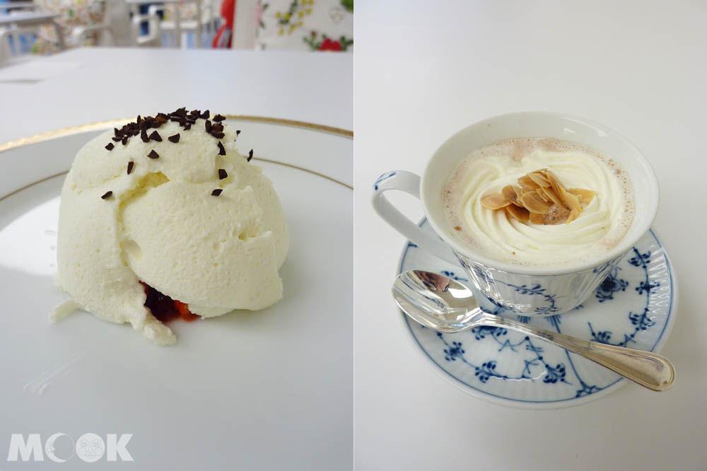 六花亭喫茶室的限定甜點