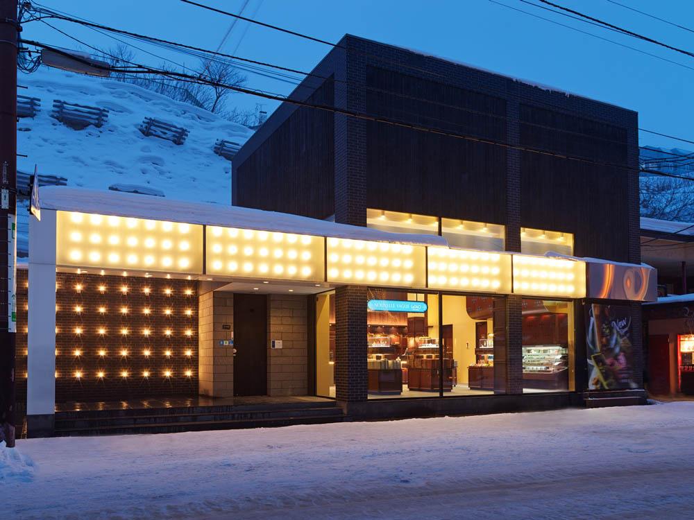 北海道小樽LeTAO的巧克力專賣店