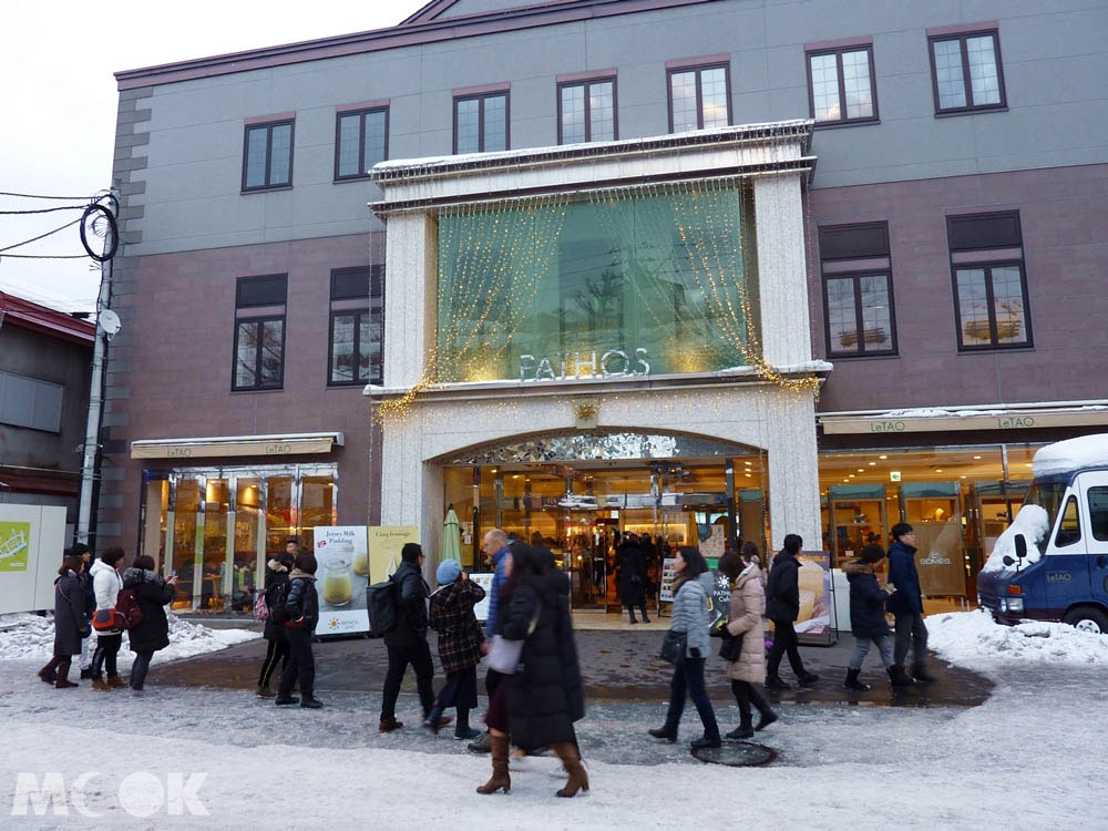 北海道小樽LeTAO起士蛋糕的旗艦店