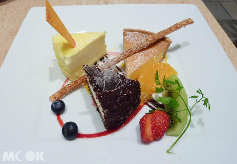 LeTAO小樽分店限定的乳酪蛋糕拼盤