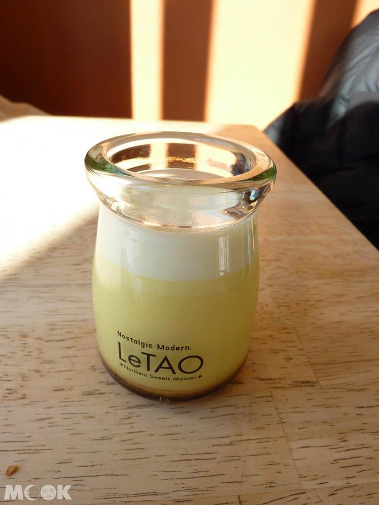 北海道小樽LeTAO限定的澤西牛奶布丁