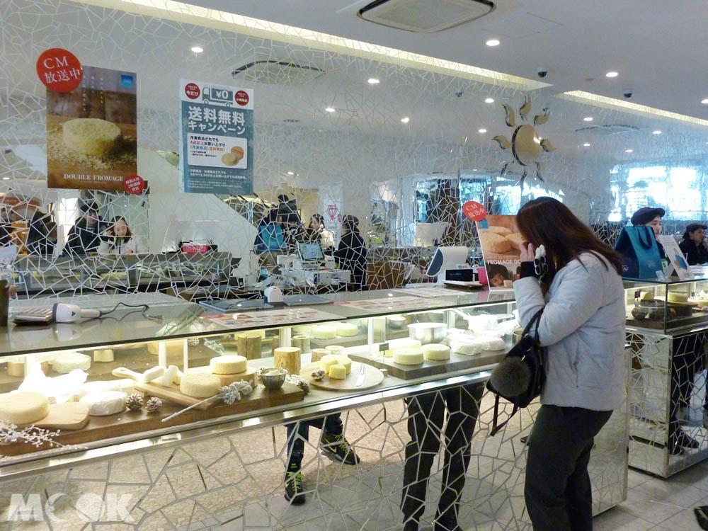 北海道小樽有名的LeTAO蛋糕