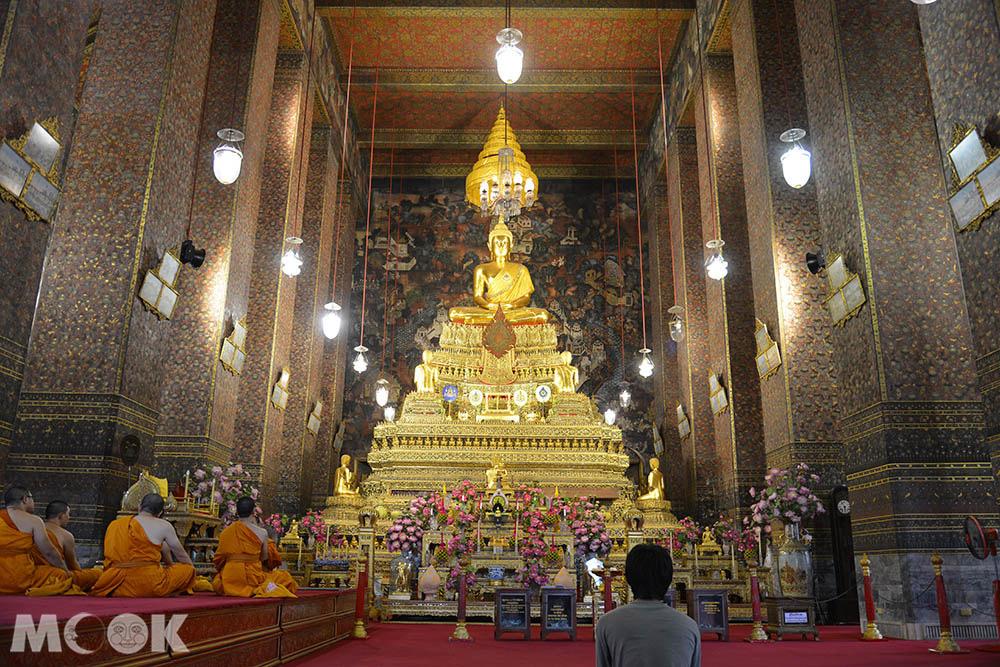 泰國 曼谷 臥佛寺 大雄寶殿