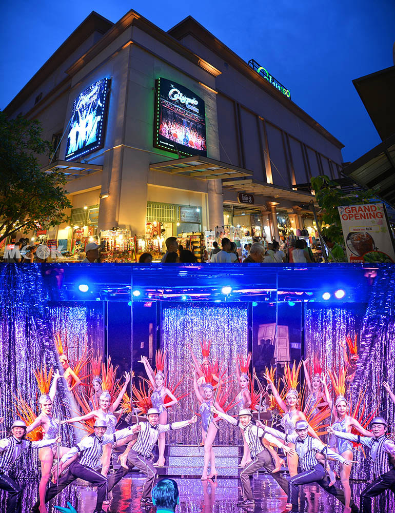 泰國 曼谷 Asiatique河畔夜市 昭披耶河畔 Calypso Cabaret