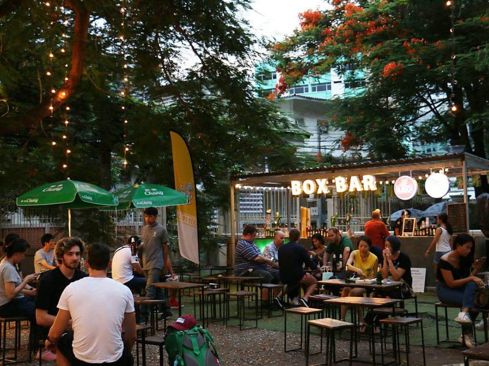 泰國 曼谷 夜市 市集 Artbox Thailand