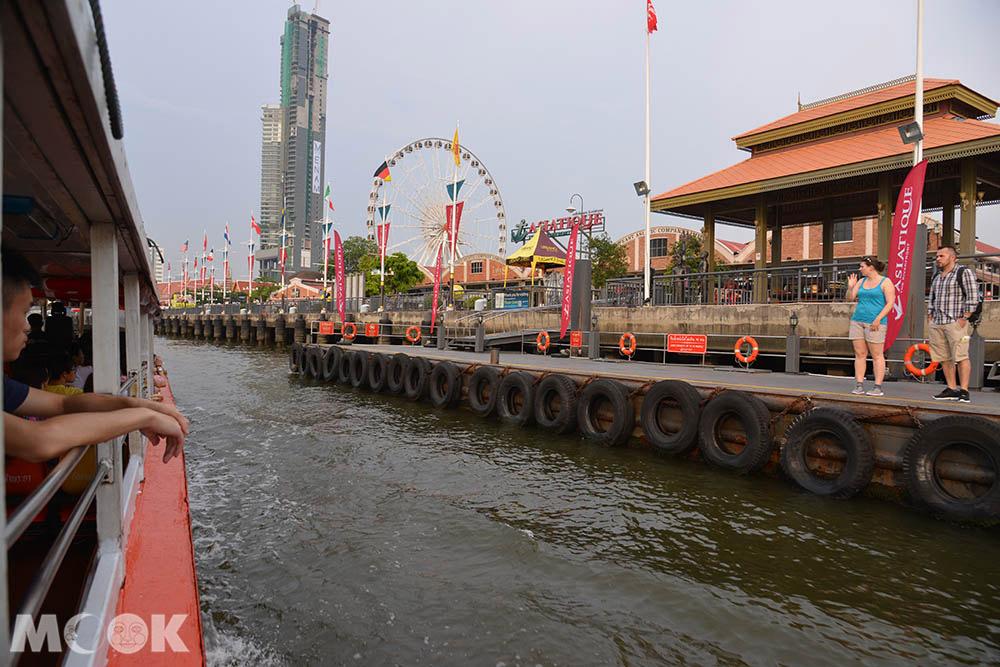 泰國 曼谷 Asiatique河畔夜市 昭披耶河畔