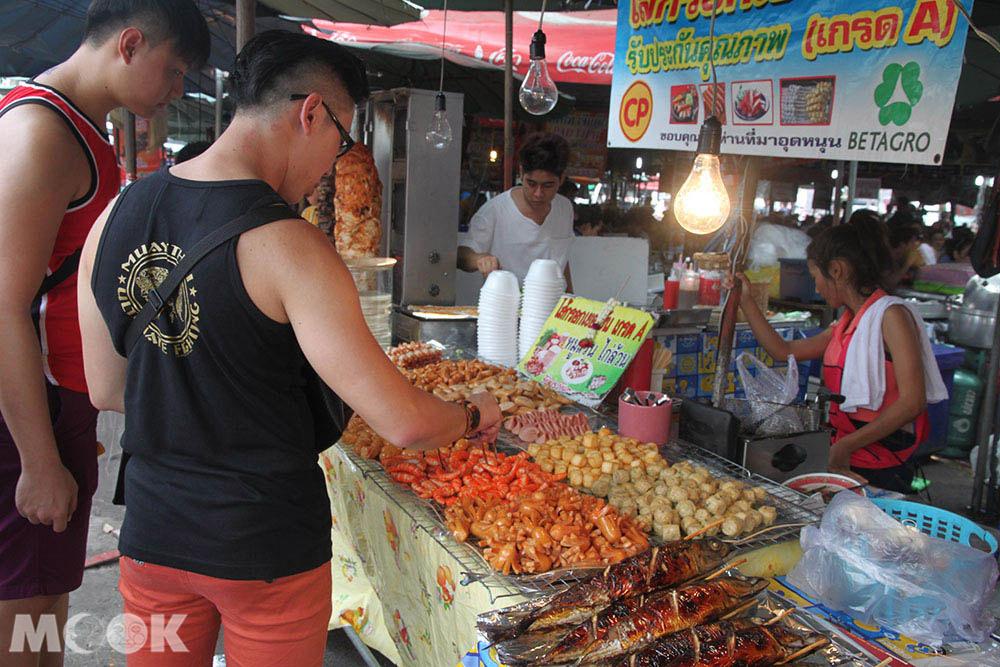 泰國 曼谷 恰圖恰 週末市集 小吃區