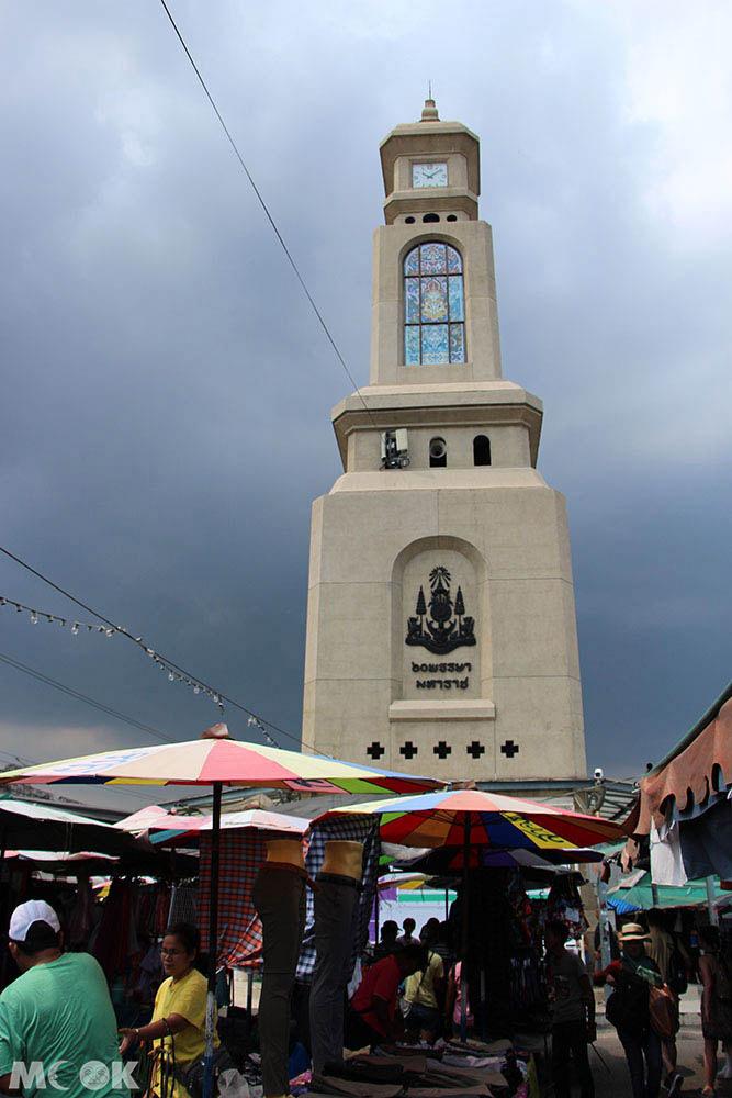 泰國 曼谷 恰圖恰 週末市集 鐘塔