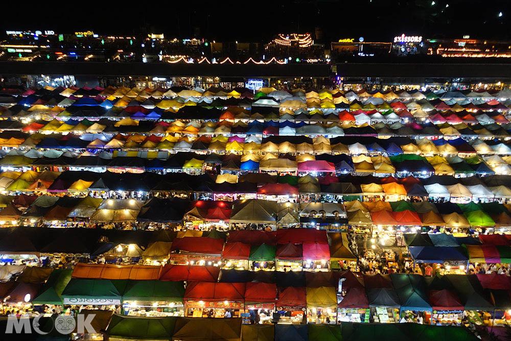 泰國 曼谷 夜市 拉差達火車夜市
