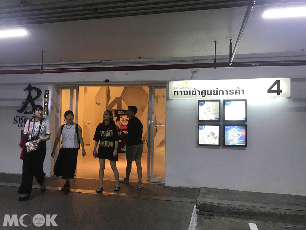 泰國 曼谷 拉差達火車夜市 拍夜景