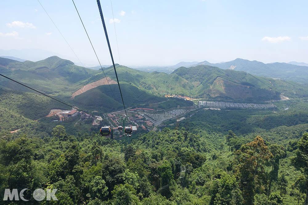 越南 中越 峴港 巴拿山 Sun World Ba Na Hills 纜車 風景