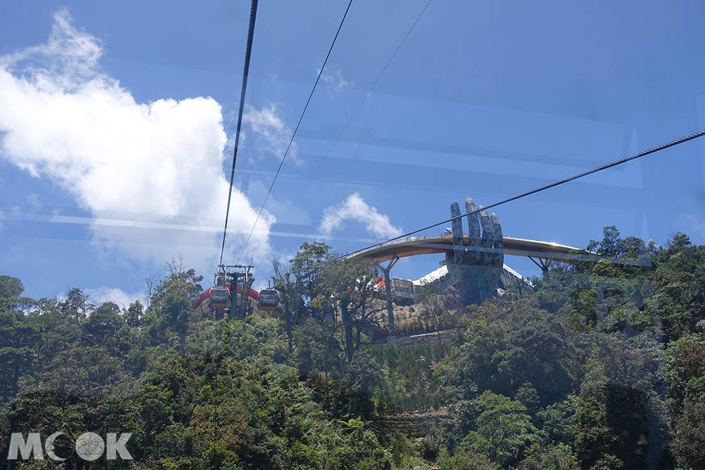 越南 中越 峴港 巴拿山 Sun World Ba Na Hills 纜車 風景 黃金橋