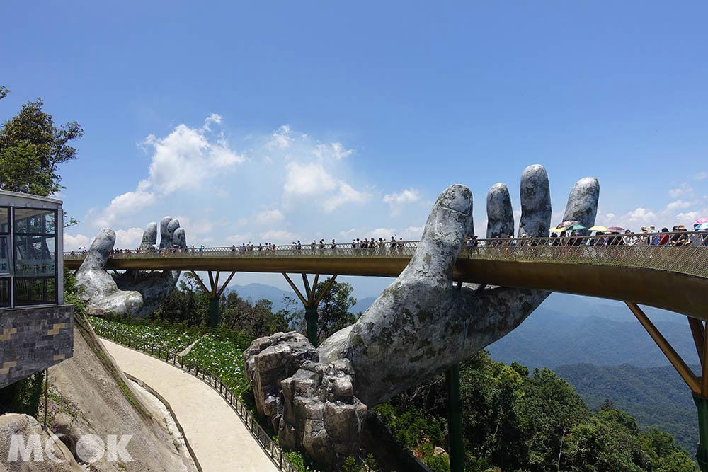 越南 中越 峴港 巴拿山 黃金橋