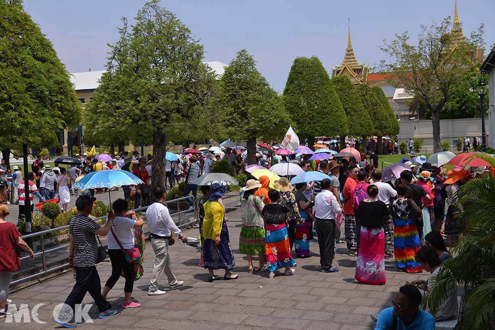 泰國 曼谷 大皇宮 玉佛寺 遊客
