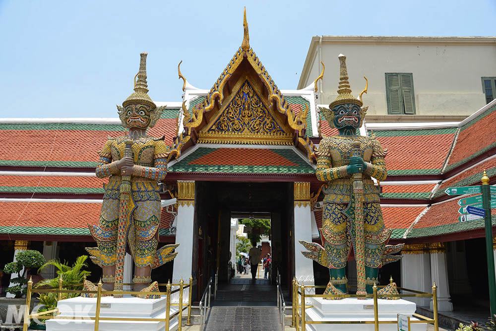 泰國 曼谷 大皇宮 玉佛寺 景點 夜叉