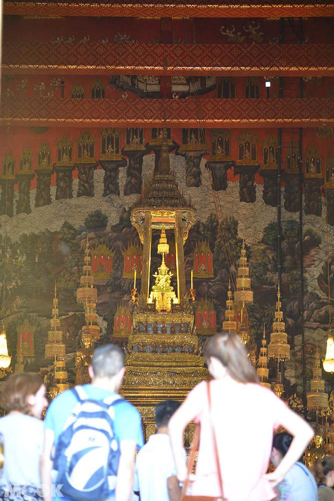泰國 曼谷 大皇宮 玉佛寺 大雄寶殿 壁畫