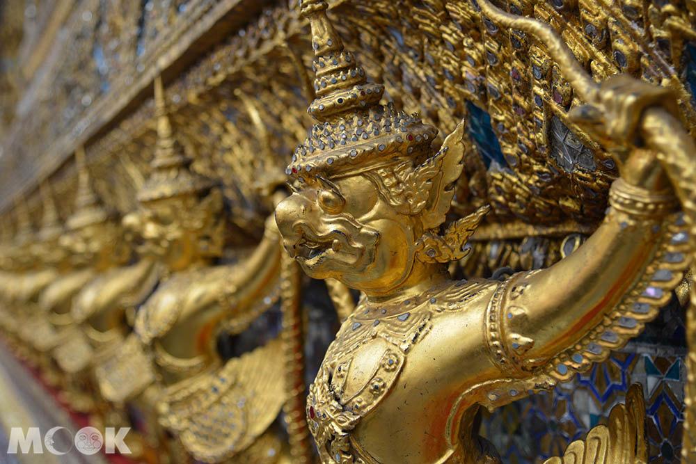 泰國 曼谷 大皇宮 玉佛寺  大雄寶殿 大鵬鳥