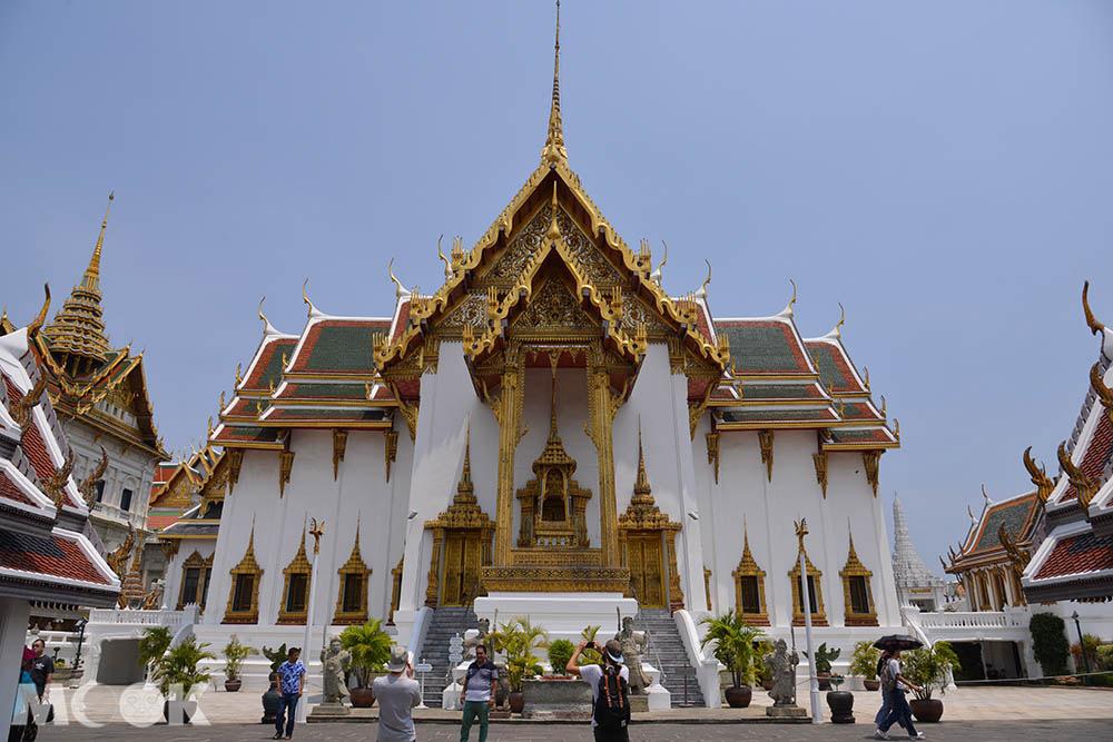 泰國 曼谷 大皇宮 兜率皇殿 建築