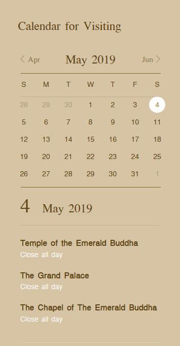 泰國 曼谷 大皇宮 玉佛寺 開放時間