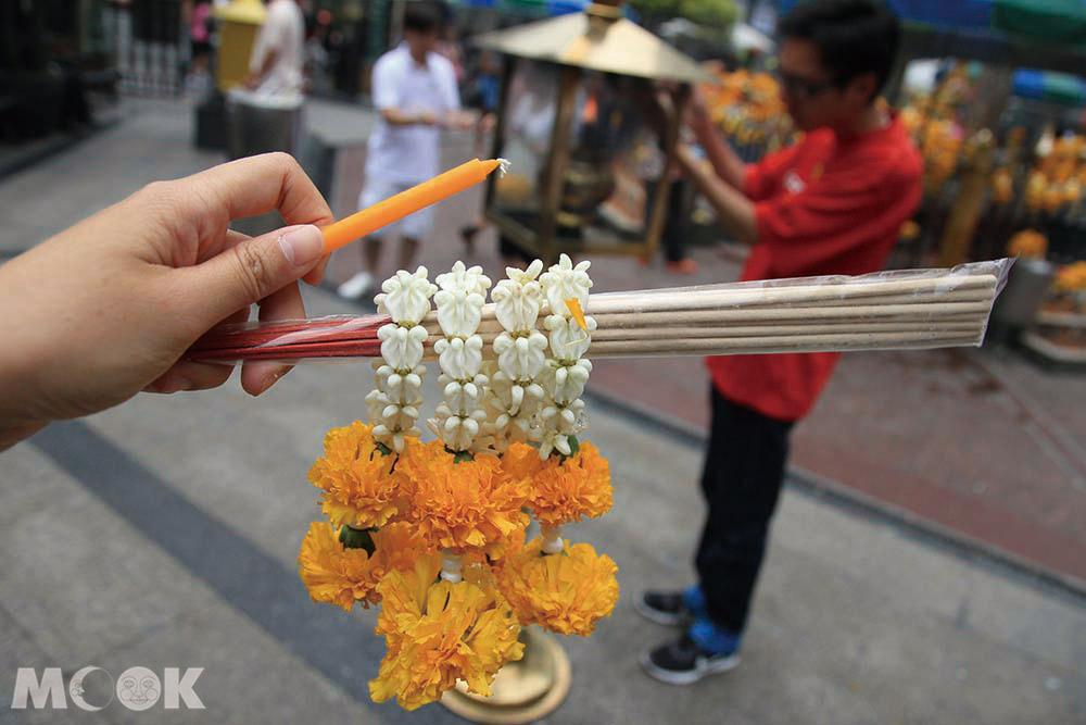 曼谷四面佛香燭