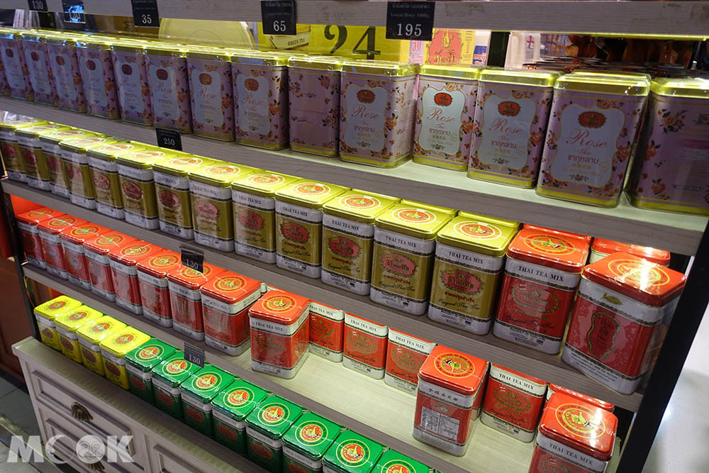 Cha Tra Mue的罐裝茶