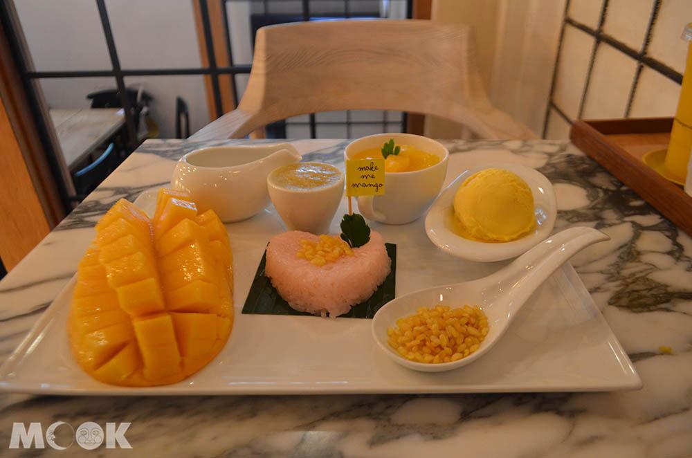 曼谷make me mango甜點