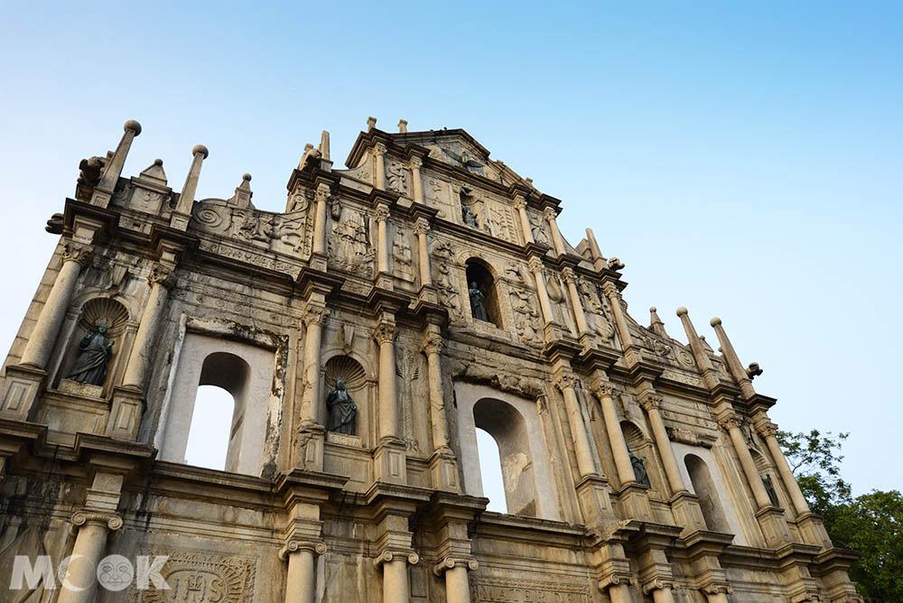 大三巴牌坊是聖保祿教堂的正立面